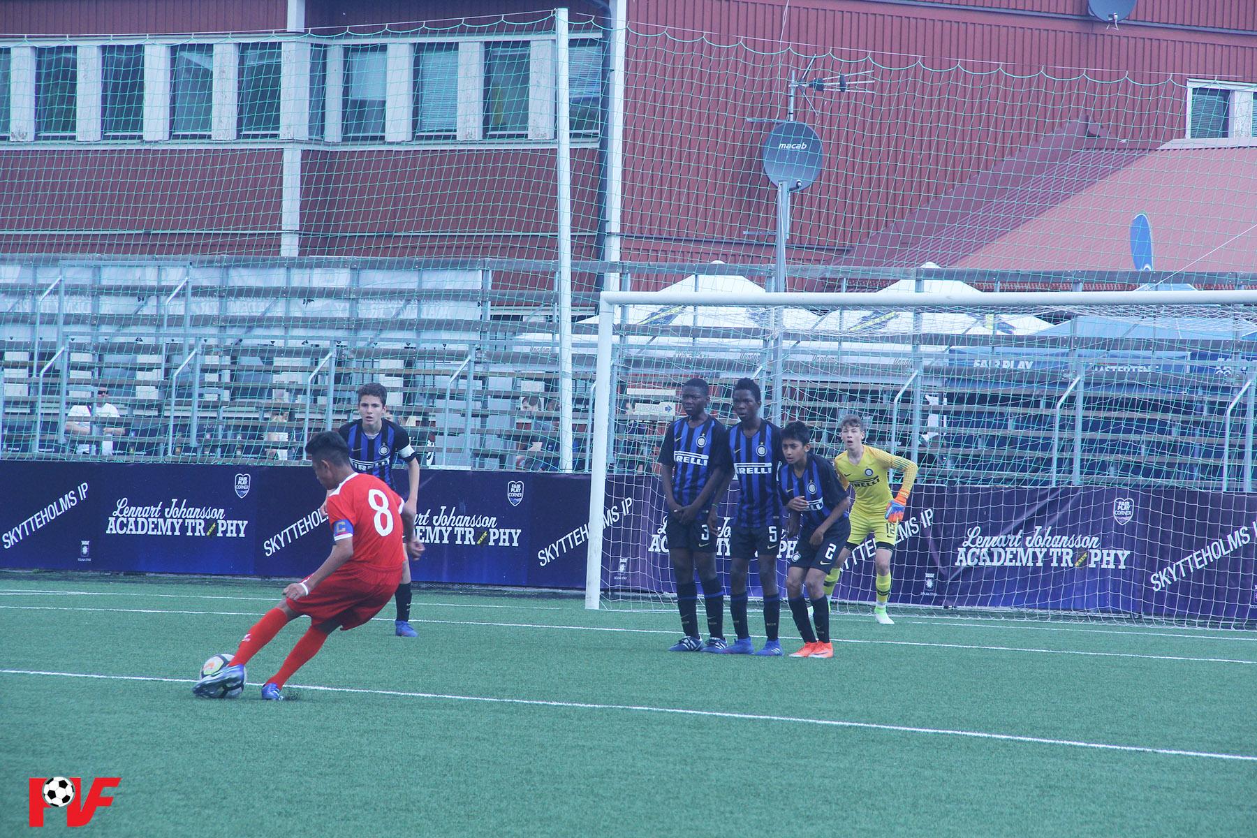 Video bàn thắng U13 Inter Milan 2 - 0 U13 PVF