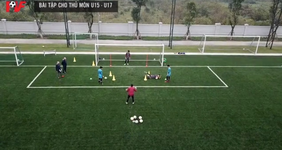 Goalkeeping training at PVF (Part 12)